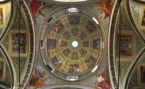 Cupola sul presbiterio