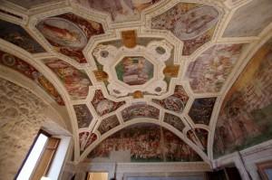 Soffitto di una stanza del castello