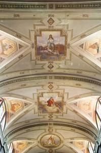 Soffitto della Chiesa di Santo Stefano