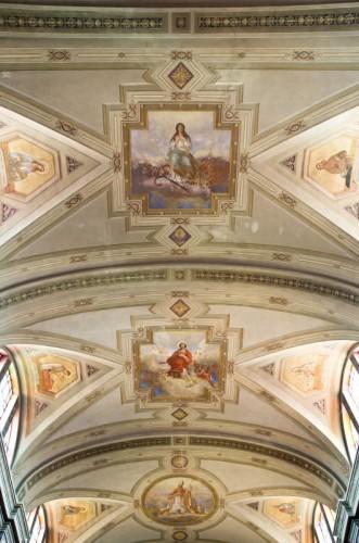 Castelmassa - Soffitto della Chiesa di Santo Stefano