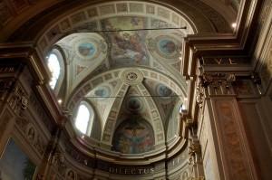 la cupola sopra l'altare