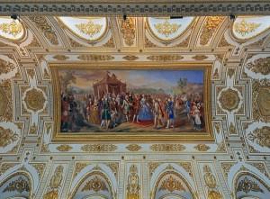 Un soffitto della Reggia