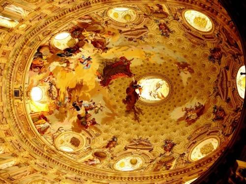 Vicoforte - Santuario di Vicoforte - La grande cupola elittica
