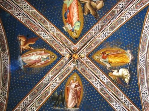 Firenze - La sacrestia di San Miniato