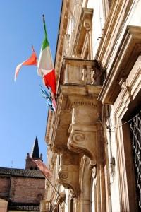 Tricolore nel Barocco Folignate