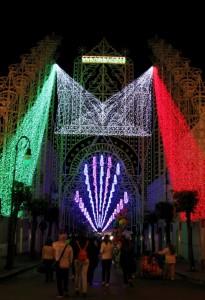 luminare tricolore