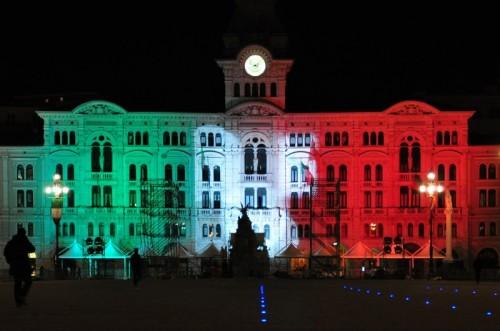 Trieste - Tricolore in piazza