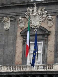 Dal balcone di Palazzo Reale