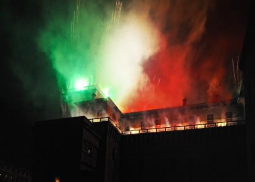 Ferrara - I primi minuti del 150°