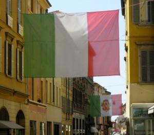 i tricolori nella città del tricolore