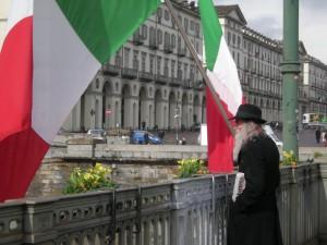 Torino, Ponte Vittorio Emanule I … 17 marzo 2011