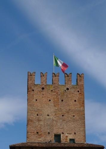 Casalpusterlengo - Il Tricolore sulla Torre