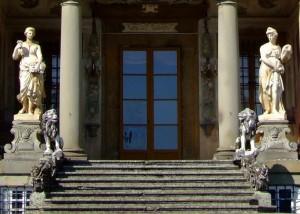 I leoni di Villa Torrigiani di Camigliano