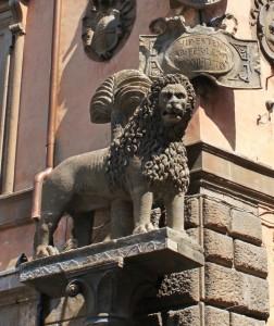 Il leone simbolo di Viterbo
