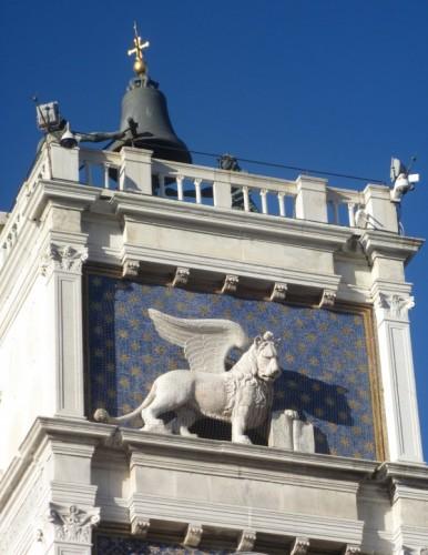 Venezia - Sulla  Torre dell'Orologio