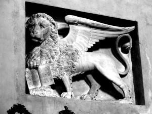 Il leone marciano….