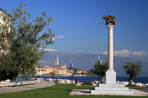 Salò - Il Leone (di San Marco) a guardia di Salò