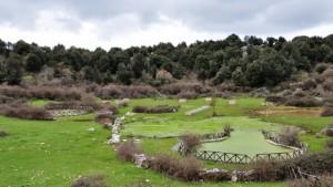 Parco attrezzato all'interno della Dolina Centopozzi