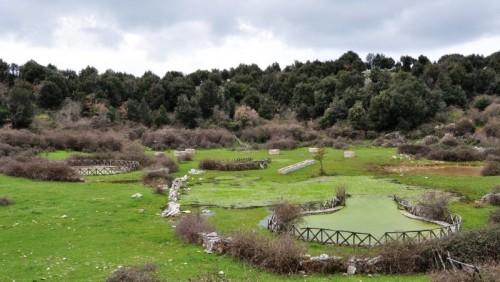 Rignano Garganico - Parco attrezzato all'interno della Dolina Centopozzi