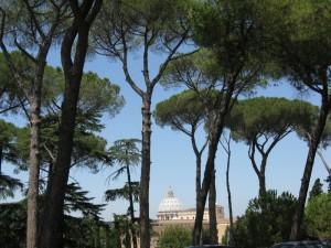 Il parco del Gianicolo.