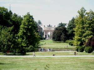 Parco Sempione, Milano.