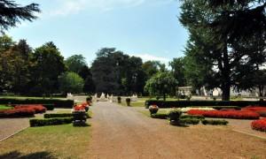 Giardini con fontana Galatea