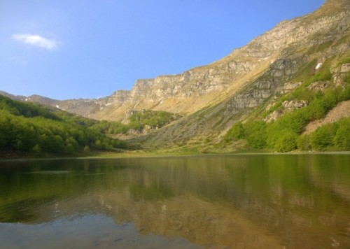Pievepelago - il lago baccio