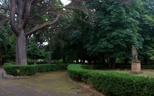 Il parco della Villa Comunale, a Monteleone Calabro