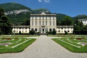 Il  giardino all'italiana,  della Villa Sola Cabiati