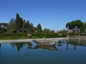 La fontana dei Mori a Villa Lante