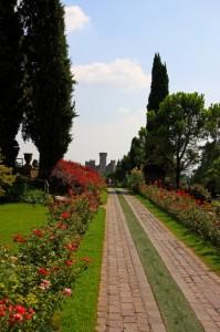 La via del parco
