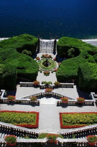 Tremezzo - I giardini con fontana