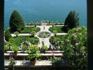 giardino italiano sull'isola