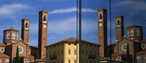 Bassano del Grappa - Un'angolo della  nostra storia, una realtà riflessa.