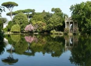 Il Giardino del Lago a Villa Borghese