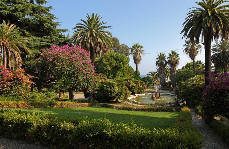 Giardini Villa Del Sole Sanremo