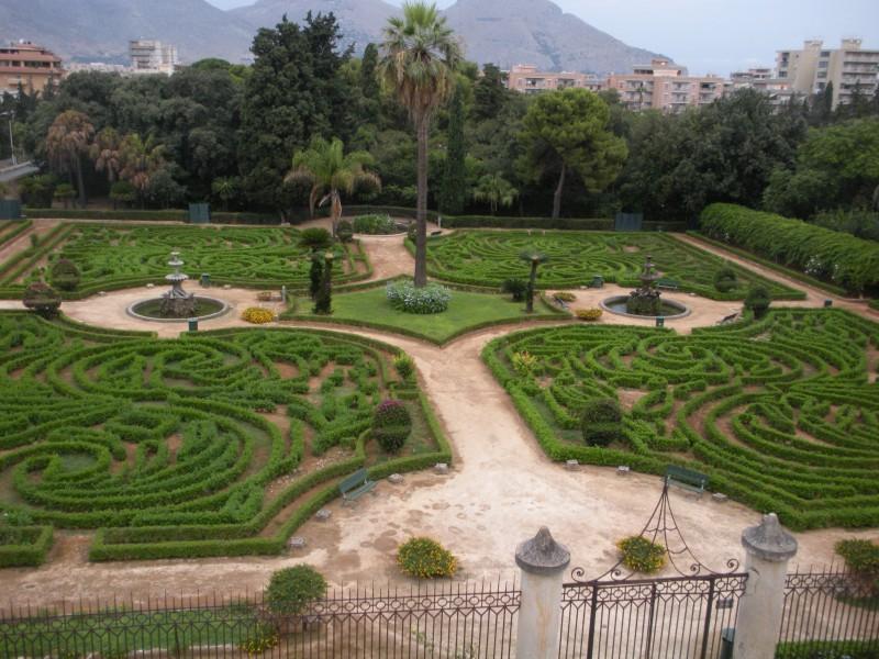 Palermo il giardino della palazzina cinese for Giardino cinese