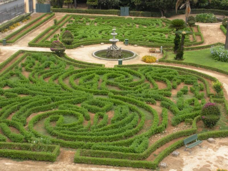 Palermo particolare del giardino della palazzina cinese for Giardino cinese