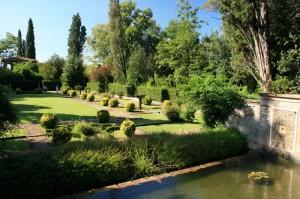 Scorcio sul giardino spagnolo