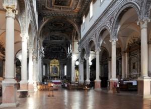 Interno rinascimentale della Chiesa di S. Maria in Vado