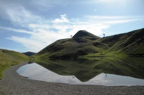 Fanano - Riflessi al lago Scaffaiolo