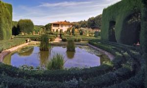Prime luci a Villa Gamberaia
