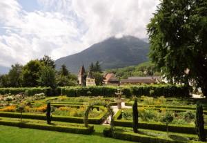 Giardino Barocco nell'Abbazia di Novacella