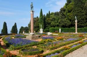 Giardino all'Italiana nel Castel Miramare