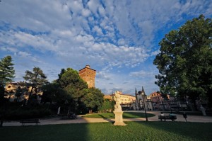 Nuvole sui Giardini Salvi
