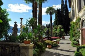 Giardino di Palme e fiori