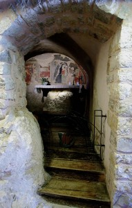 Grotta dove pregava Francesco