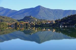 Riflessi sul lago grande di Avigliana