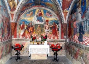 cappella dell'oratorio di S.Rocco