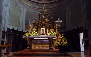 L'altare!